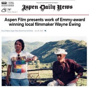 Aspen Daily News Article